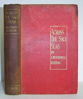 Image for Across the Salt Seas. A Romance of War and Adventure (1898)