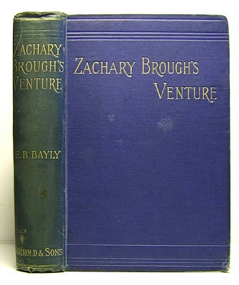 Image for Zachary Brough's Venture (1894)