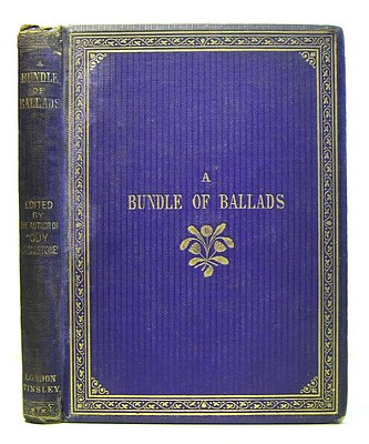Image for A Bundle of Ballads By the Author of Guy Livingstone (1864)