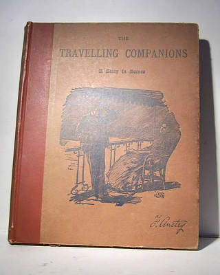 Image for The Travelling Companions. A Story in Scenes. [Reprinted from Punch] (1892)