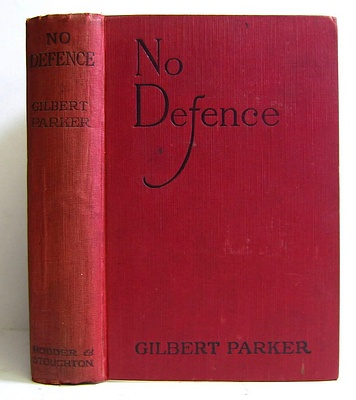 Image for No Defence (1920)