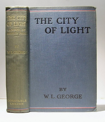 Image for The City of Light. A Novel of Modern Paris (1912)