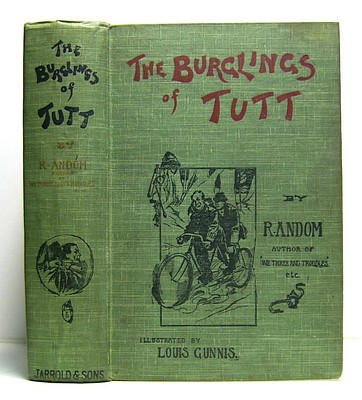 Image for The Burglings of Tutt. Being Some Exploits in the Life of an Expert (1905)