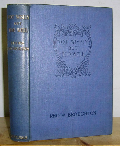 Image for Not Wisely But Too Well (1867)