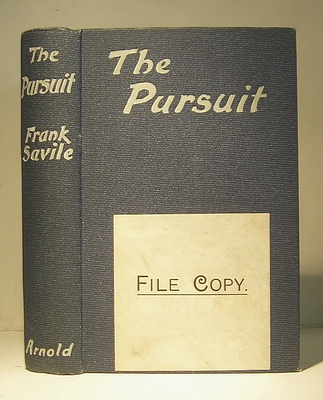 Image for The Pursuit (1910)