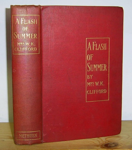 Image for A Flash of Summer The Story of a Simple Woman's Life (1895)