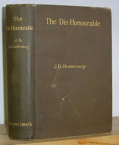Image for The Dis-Honourable (1896)