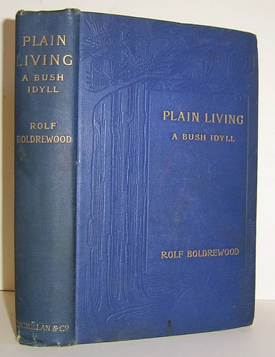 Image for Plain Living A Bush Idyll (1898)