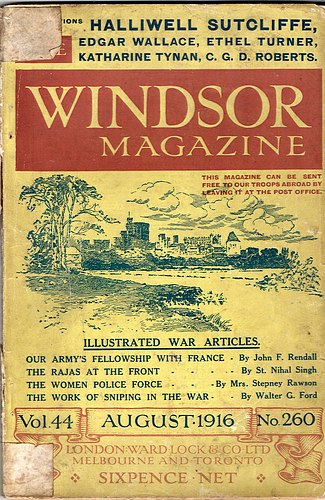 Image for The Windsor Magazine, No 260, August 1916