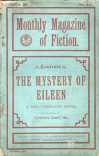 Image for The Monthly Magazine of Fiction: The Mystery of Eileen (No 210, October 1902)