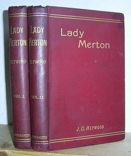 Image for Lady Merton: A Tale of the Eternal City (1891)