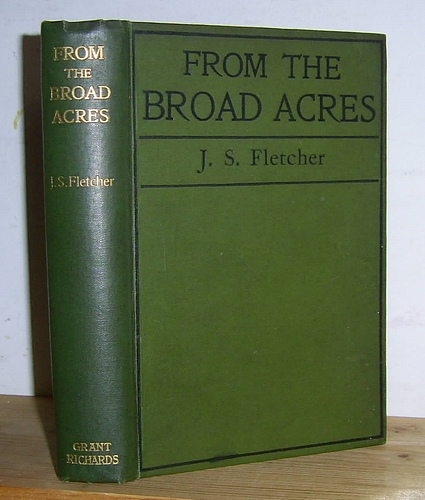Image for From Broad Acres. Stories Illustrative of Rural Life in Yorkshire (1899)