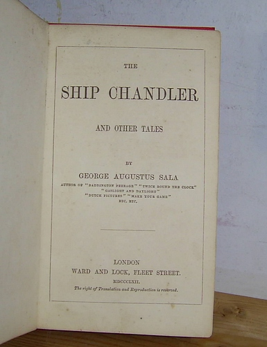 Image for The Ship Chandler and Other Tales (1862)
