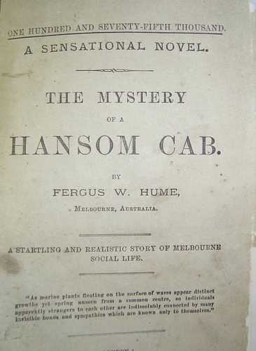 Image for The Mystery of a Hansom Cab (1886)