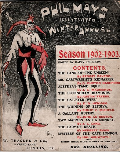 Image for PHIL MAY'S ILLUSTRATED ANNUAL, Winter 1902 - 1903