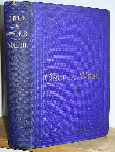 Image for Once a Week, Volume III (3), June - December 1860