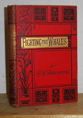 Image for Ballantyne's Miscellany: Fighting the Whales; or, Doings and Dangers on a Fishing Cruise (1863)