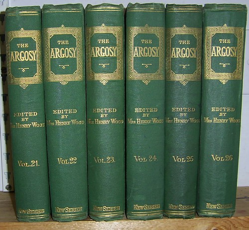 Image for The Argosy, Volumes XXi, XXII, XXIII, XXIV, XXV, XXVI (21, 22, 23, 24, 25, 26), January 1876 - December 1878