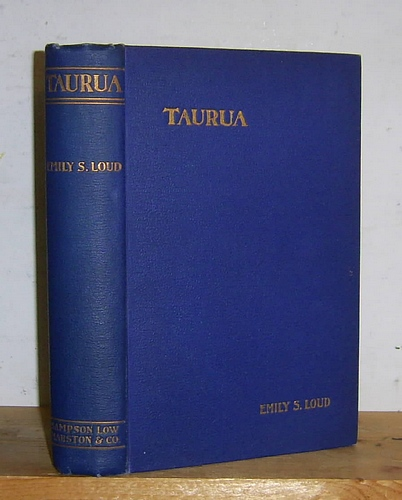 Image for Taurua or Written in the Book of Fate (1899)