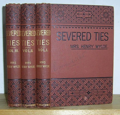 Image for Severed Ties (1889)