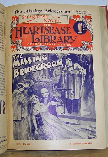 Image for THE HEARTSEASE LIBRARY OF HIGH CLASS FICTION. Nos 156 - 182, July - December 1911. Contains: Mary Latimer--Nun