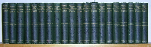 Image for Works of George Eliot, Cabinet Edition (1878) in Twenty Volumes