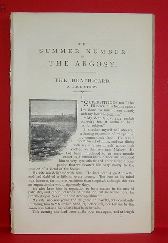 Image for The Summer Number of the Argosy (1887)