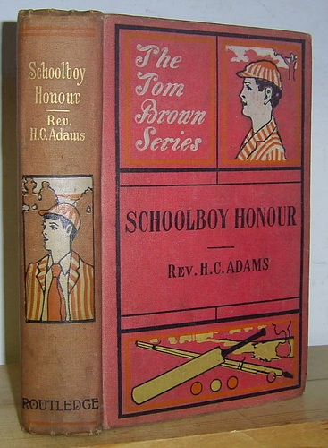 Image for Schoolboy Honour A Tale of Halminster College (1861)