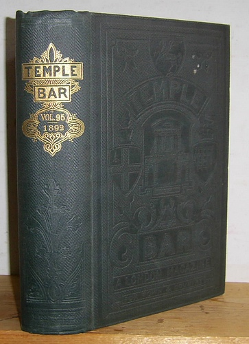 Image for Temple Bar Magazine, Volume XCV (95), May - August 1892