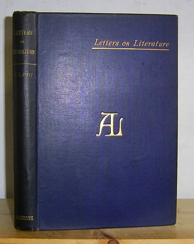 Image for Letters on Literature