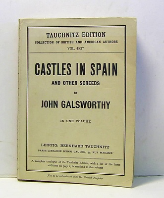 Image for Castles in Spain and Other Screeds