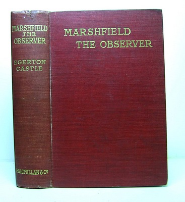 Image for Marshfield the Observer and the Death Dance, Studies of Character and Action.