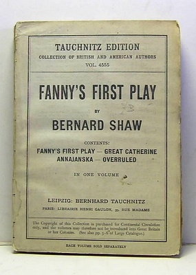 Image for Fanny's First Play
