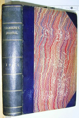 Image for Chambers's Journal for 1875. Contains: Walter's Word (Payn) & The Flag of Distress (Reid)