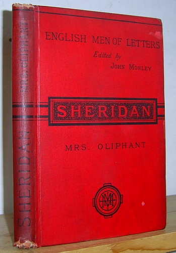Image for [English Men of Letters, edited by John Morley] Sheridan
