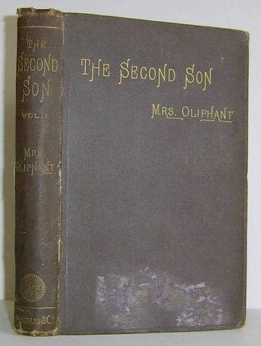 Image for The Second Son (1888) Volume II (2) only