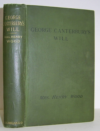 Image for George Canterbury's Will (1870)