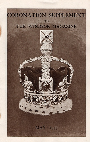 Image for Coronation Supplement to The Windsor Magazine. May 1937: The Path to the Throne, A Short Biography of King George VI and Queen Elizabeth, and Notes on the Coronation Service and the Regalia (1937)