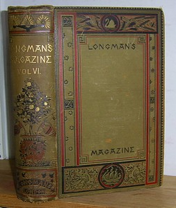 Image for Longman's Magazine, Volume VI (6), May - October 1885