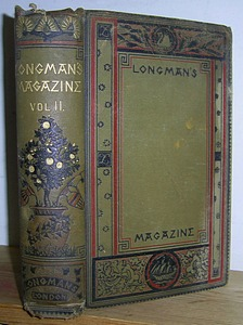Image for Longman's Magazine, Volume II (2), May - October 1883