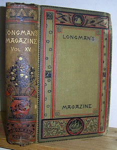 Image for Longman's Magazine, Volume XV (15), November 1889 - April 1890