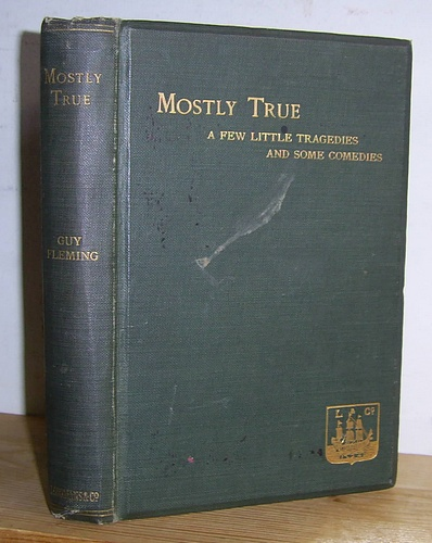 Image for Mostly True A Few Little Tragedies and Some Comedies (1913)