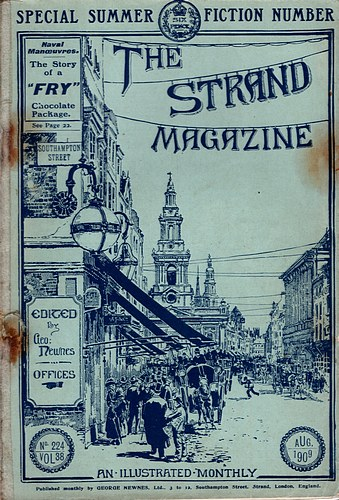 Image for The Strand Magazine, Single Issue. Vol 38, No 224. August 1909