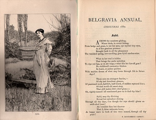 Image for The Belgravia Annual, Christmas 1880