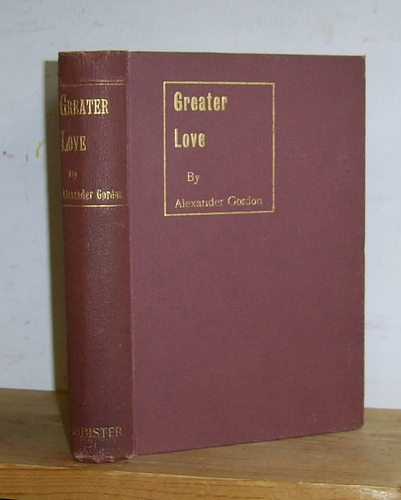 Image for Greater Love...and Other Stories (1894)