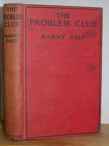 Image for The Problem Club (1919)