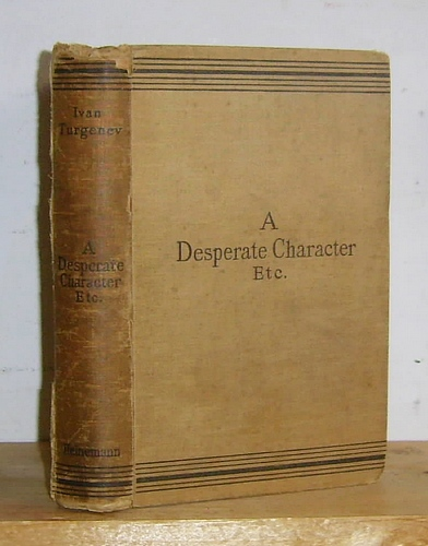 Image for A Desperate Character and Other Stories (1899)