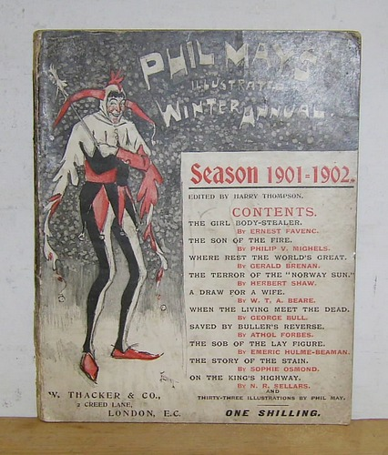 Image for PHIL MAY'S ILLUSTRATED ANNUAL, Winter 1901 - 1902