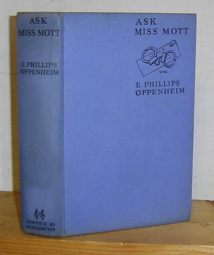 Image for Ask Miss Mott. A Series of Stories (1936)