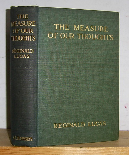 Image for The Measure of Our Thoughts (1913)